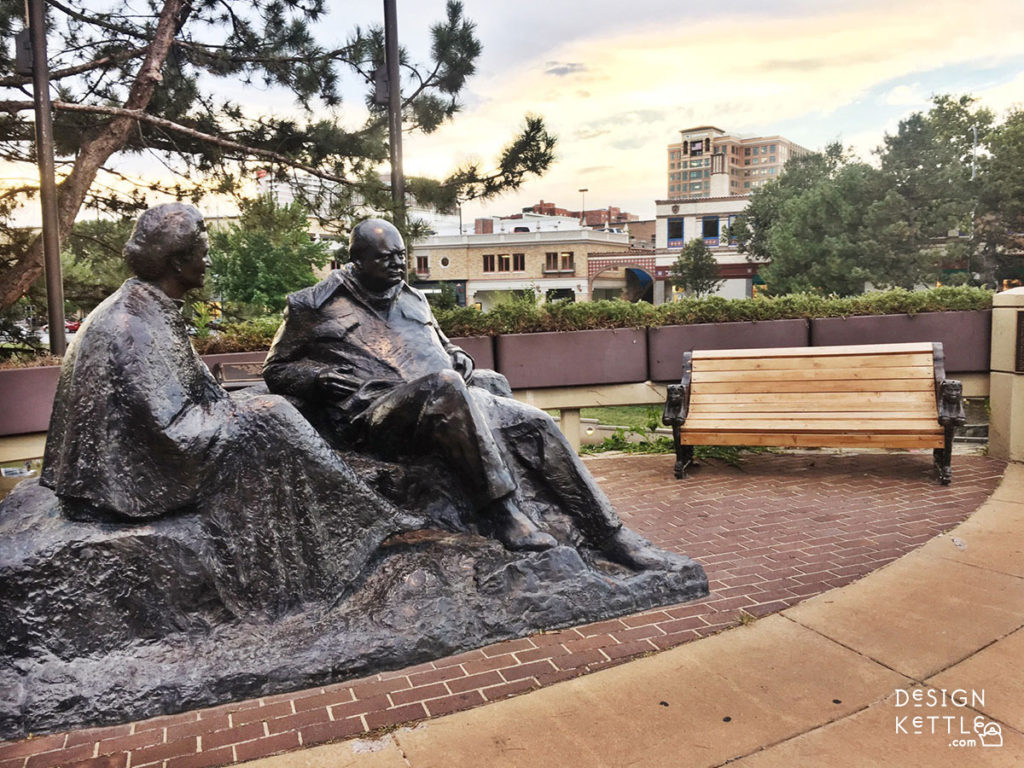 Churchill Statue Kansas City